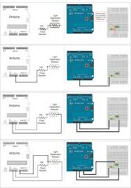 going from schematic to breadboard make
