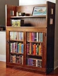 Shelf Ladder Woodworking Plans by Office Bookcase Plans Furniture Plans And Projects