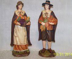 thanksgiving pilgrim statues 13 75 joseph s studio pilgrim thanksgiving harvest table