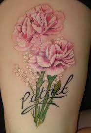 32 best carnation tattoos images on pinterest carnation tattoo