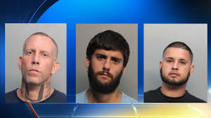lexus of north miami 3 men arrested in robbery attempt of 2 undercover miami beach