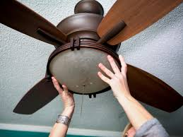 replace a light fixture with a ceiling fan tos diy
