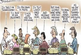 les tours de laliberté caricature thanksgiving à l ère des médias