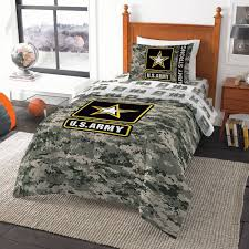 Army Bed Set United States Army Camo Comforter 64 X 86