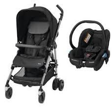 si e auto streety fix duo poussette black et streety fix bébé confort ebay