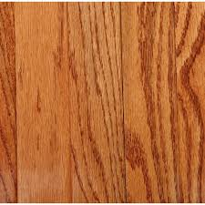 Home Depot Laminate Floor Bruce Plano Marsh Oak 3 4 In Thick X 2 1 4 In Wide X Random