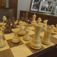 heirloom executive honey rosewood vanguard chess set
