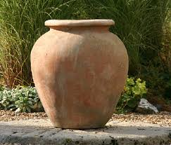 italian terrace terracotta pots planters oil jars u0026 plaques