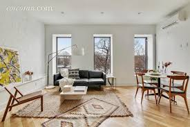 how much for an airy bed stuy 2br in a converted brownstone