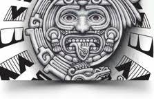 gods archives aztec tattoos aztec mayan inca designs