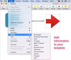 templates for numbers mac how to create impressive pages documents and templates on mac