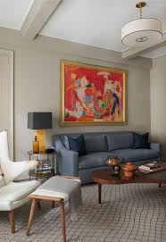 Old Homes With Modern Interiors Contemporary New York Apartment With Chic Midcentury Vibe