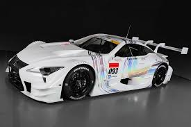 lexus new car all new lexus race car revealed for 2017 super gt series