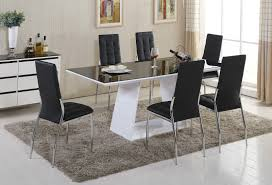 Oval Dining Table Set For 6 Modern Dining Room Tables And Chairs Modern Wood Dining Room