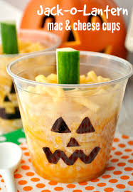 jack o lantern mac u0026 cheese cups the seasoned mom