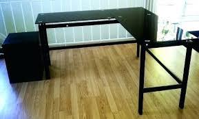 etched glass desk name plates glass l desk new black lake point l desk tempered glass desk glass