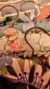 Shabby Chic Coat Hangers by 573 Best Shabby Chic Fabric Coat Hangers Images On Pinterest