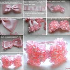 ruffled ribbon diy easy ruffled ribbon hairband fab diy
