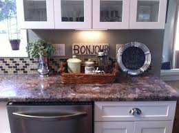 kitchen countertop decor ideas impressing how to decorate kitchen counters javedchaudhry