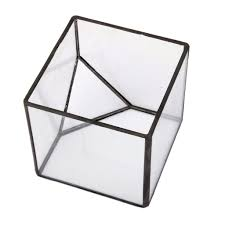 aliexpress com buy plant glass terrarium cube fairy garden house