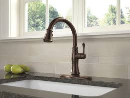 Rubbed Oil Bronze Kitchen Faucet Kitchen Delta Bronze Kitchen Faucet And 34 Kitchen Faucets Home