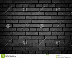 dark brick wall texture of a black brick background stock photo