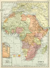 Geography Map C S Hammond Map Of Africa Antique Historical Map History