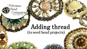 beaded bracelet tutorials youtube images How to add thread to beading projects jpg