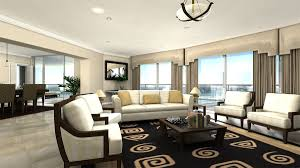 living room 4 columns padding awesome modern interior design 4
