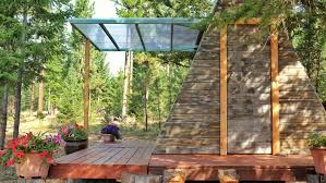 building an a frame cabin tiny a frame cabin costs just 700 to build curbed