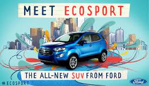 2018 ford ecosport ford media center
