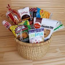 gluten free gift baskets for sale mildred s