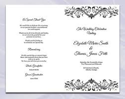 Wedding Ceremony Program Template Free Catholic Wedding Program Template Diy Navy Blue Cross
