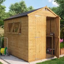 hobbyist apex wooden garden shed door wooden sheds