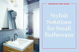 ideas for remodeling bathrooms 7 clever renovating ideas for a small bathroom apartment therapy