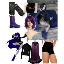 Teen Titans Halloween Costumes Raven Teen Titans