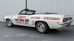 69 camaro pace car one and only 69 camaro daytona pace car chevy