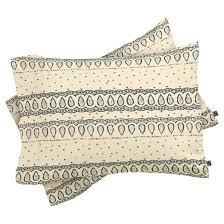 beige dash and ash fancy fancy comforter set deny designs target