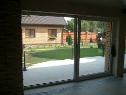 Insulate Patio Door Tilt And Slide Patio Door Pvc Glazed Thermally