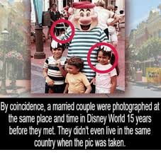 Disney World Meme - book by coincidence a married couple were photographed at the same