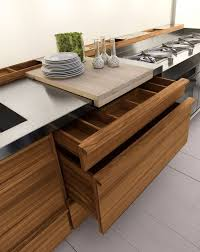 solid wood kitchen furniture design linear custom solid wood kitchen only one by riva 1920