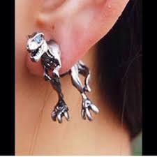 t rex earrings t rex earrings zeige earrings