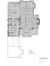 walk out basement floor plans house plan ranch house plans walkout basement hillside house