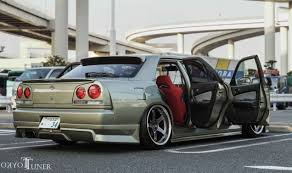 stanced cars a gem from daikokufuto junya u0027s er 34