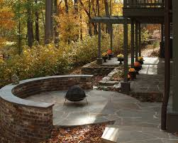 Flagstone Patio With Pergola Best 30 Craftsman Patio With A Pergola Ideas U0026 Remodeling Pictures