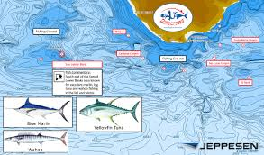 Cabo San Lucas Mexico Map by Fishing Chart Captain Ken Kreisler U0027s Boat And Yacht Report