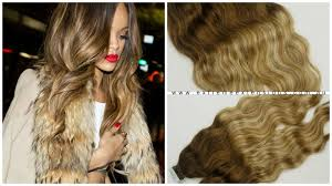 russian hair wavy ombre balayage luxury russian hair extensions