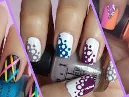 46 quick and easy nail art designs nails in pics