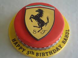 ferrari emblem ferrari logo cake celebration cakes cakeology