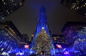 nyc rockefeller tree lighting mild evening in store for millions